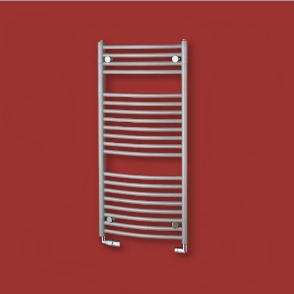 P.M.H. Blenheim radiátor kúpeľňový 600 x 940 mm metalická strieborná MSB2