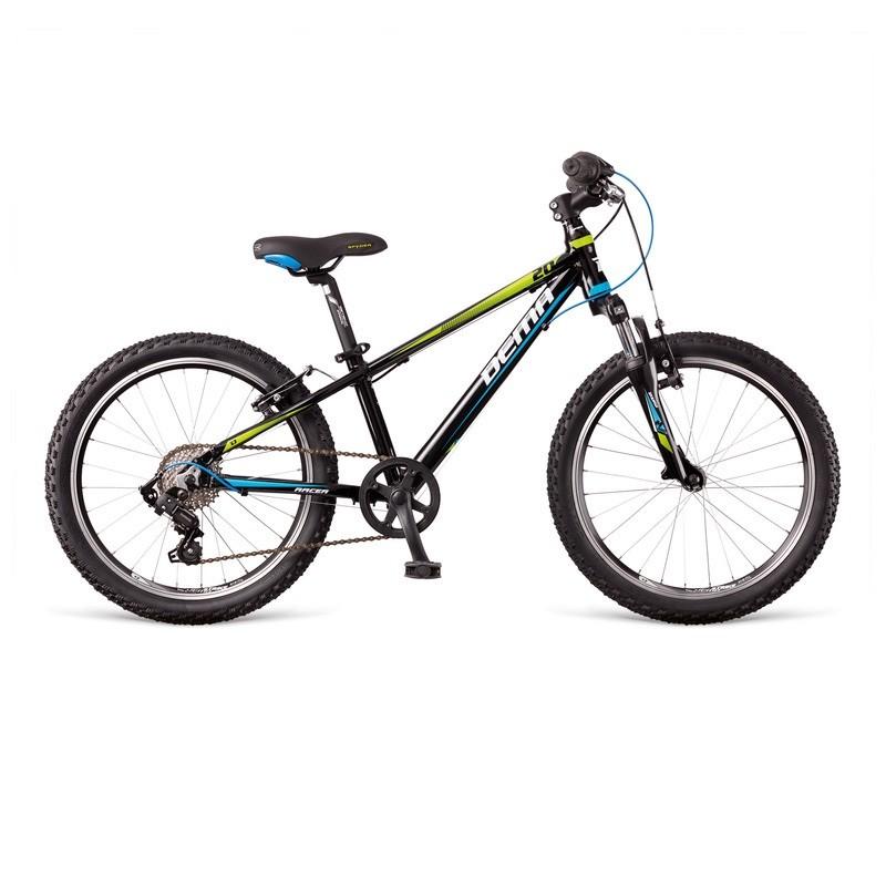 DEMA RACER SF 7sp black/blue/green 2018 20´´ detský bicykel