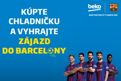 S Bekom na zápas do Barcelony!